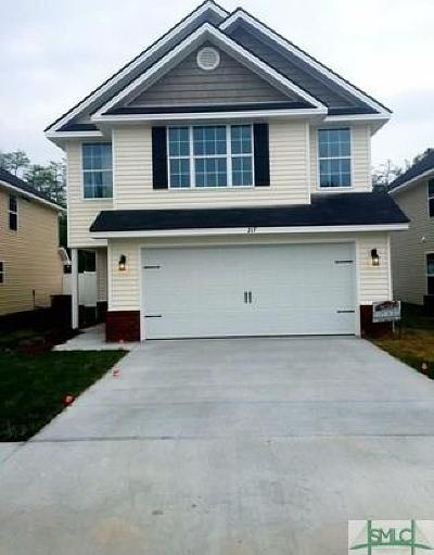 Single Family Home For Sale: 217 Grandview Drive