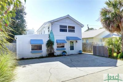 Tybee Island Single Family Home For Sale: 103 9th Street