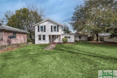 Savannah Single Family Home For Sale: 2006 Texas Avenue