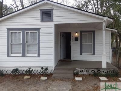 Savannah Single Family Home For Sale: 2141 Louisiana Avenue