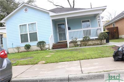 Savannah Single Family Home For Sale: 1223 E Waldburg Street