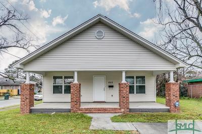 Savannah GA Single Family Home For Sale: $221,000