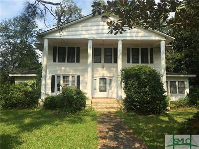 Pembroke Single Family Home For Sale: 75 Strickland Street