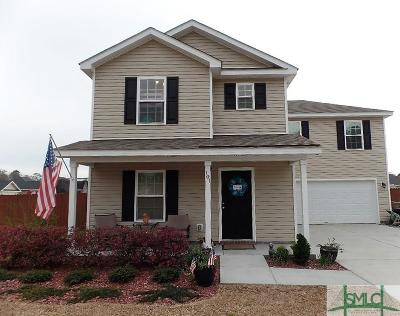 Guyton Single Family Home For Sale: 101 Quarterhorse Drive