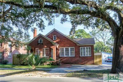 Savannah Multi Family Home For Sale: 1214 E Victory Drive