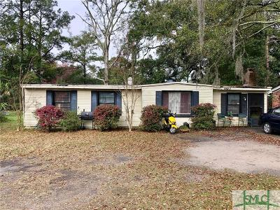 Savannah GA Single Family Home For Sale: $95,000