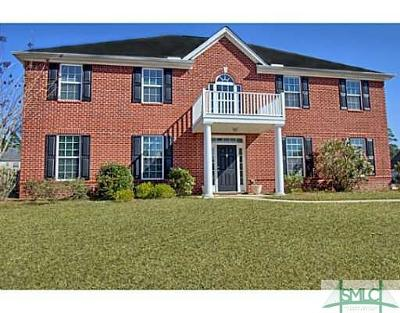 Hinesville Single Family Home For Auction: 52 Barton Court