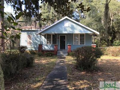 Savannah Single Family Home For Sale: 45 Ben Kell Road