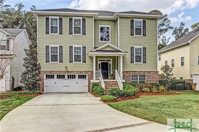 Savannah Single Family Home For Sale: 19 Dockside Drive