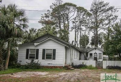 Tybee Island Multi Family Home Active Contingent: 1205 Lovell Avenue
