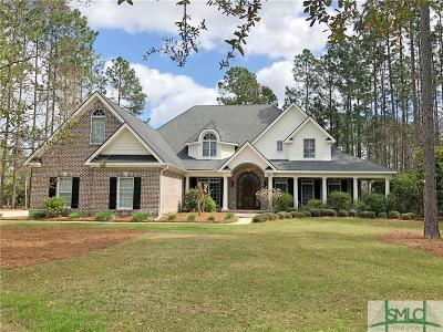 Pooler Single Family Home For Sale: 120 Post House Trail