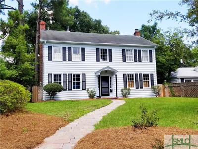 Savannah Single Family Home For Sale: 504 Gordonston Avenue
