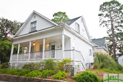 Tybee Island Single Family Home For Sale: 214b Eagles Nest Lane