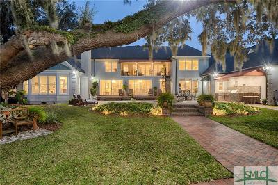 Single Family Home For Sale: 1822 Wilmington Island Road