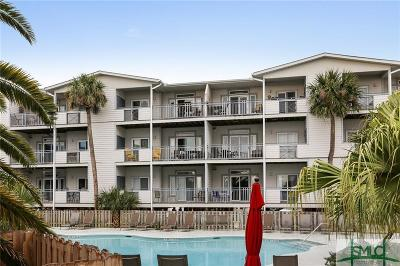 Tybee Island Condo/Townhouse For Sale: 1217 Bay Street #102C
