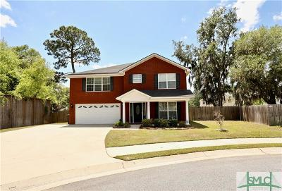 Hinesville Single Family Home For Sale: 304 Largo Court