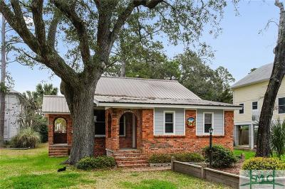 Tybee Island Single Family Home For Sale: 912 Jones Avenue