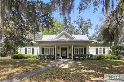 Savannah Single Family Home For Sale: 4 Woodhull Road