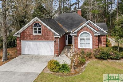 Savannah Single Family Home For Sale: 102 Hunter Lane