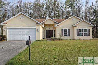 Guyton Single Family Home For Sale: 819 Hyacinth Drive
