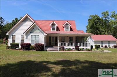 Port Wentworth Single Family Home Active Contingent: 750 Ga Highway 30 Highway