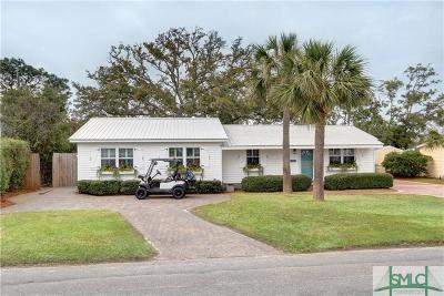 Tybee Island Single Family Home For Sale: 129 Lewis Avenue