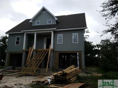 Savannah Single Family Home For Sale: 114 Sweet Bailey Cove