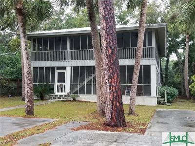 Tybee Island Multi Family Home Active Contingent: 611 Lovell Avenue