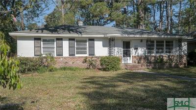 Savannah Single Family Home For Sale: 5209 Habersham Street