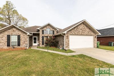 Hinesville Single Family Home For Sale: 1215 Langston Lane