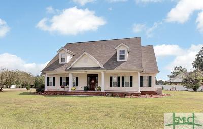 Guyton Single Family Home For Sale: 116 Lakewood Drive