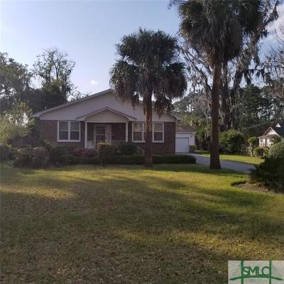 Savannah Single Family Home For Sale: 3305 Whatley Avenue