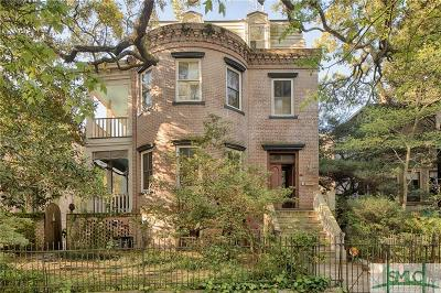 Savannah Single Family Home For Sale: 205 E Gaston Street