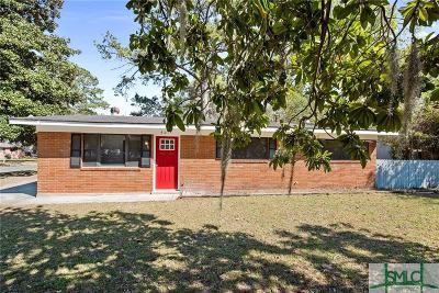 Savannah Single Family Home For Sale: 401 Valentine Drive