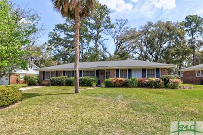 Wilmington Island Single Family Home For Sale: 49 S Cromwell Road