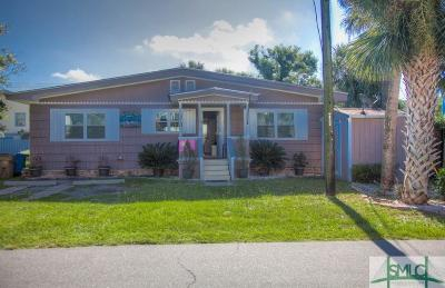 Tybee Island Single Family Home For Sale: 1106 Lovell Avenue