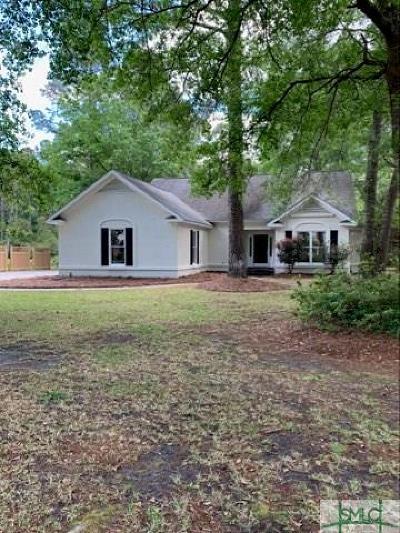 Rincon Single Family Home For Sale: 150 Palmetto Drive