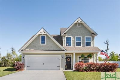 Pooler Single Family Home Active Contingent: 58 Belle Gate Court