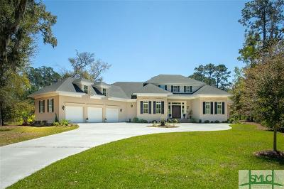 Savannah Single Family Home For Sale: 72 Waterway Drive