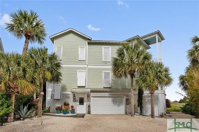 Tybee Island Single Family Home For Sale: 13 Teresa Lane