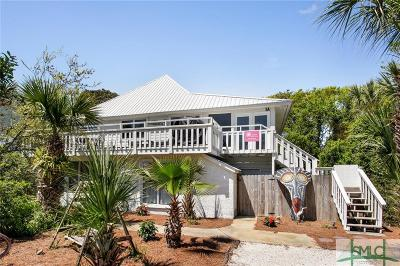 Tybee Island Single Family Home For Sale: 1 Miller Avenue