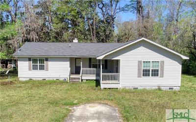 Guyton GA Single Family Home For Sale: $110,000