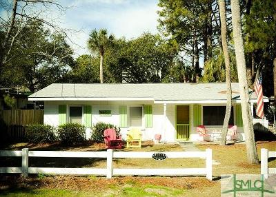 Tybee Island Single Family Home For Sale: 213 Jones Avenue