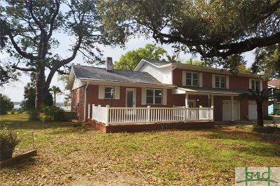 Savannah Single Family Home Active Contingent: 2106 Walthour Road