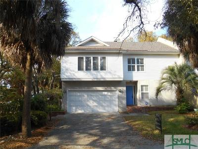 Tybee Island Condo/Townhouse For Sale: 14 12th Terrace