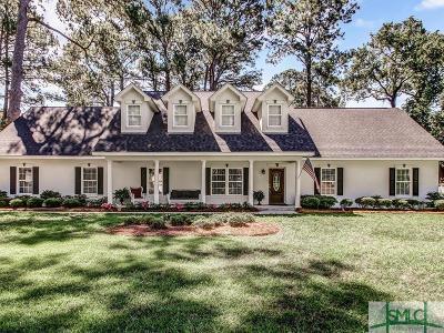 Savannah GA Single Family Home For Sale: $595,900