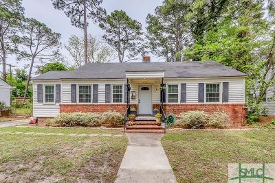 Savannah GA Single Family Home For Sale: $184,900