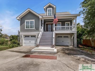 Wilmington Island Single Family Home For Sale: 30 Sapphire Island Road