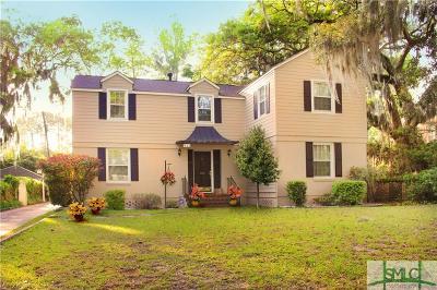 Savannah Single Family Home For Sale: 911 Goebel Avenue