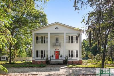 Guyton Single Family Home For Sale: 706 Central Boulevard